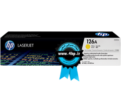 HP 126A Yellow Original LaserJet Toner Cartridge CE312A کارتریج لیزری ۱۲۶ زرد اچ پی