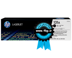 HP 131A Black Original LaserJet Toner Cartridge CF210A