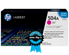 HP 504A Magenta Original LaserJet Toner Cartridge CE253A