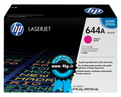 HP 644A Magenta Original LaserJet Toner Cartridge Q6463A برای پرینتر HP 4730