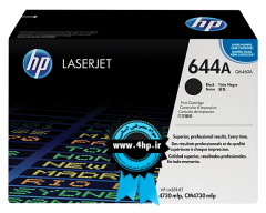 HP 644A Black Original LaserJet Toner Cartridge Q6460A برای پرینتر HP 4730