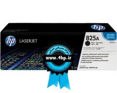 HP 825A Black Original LaserJet Toner Cartridge CB390A