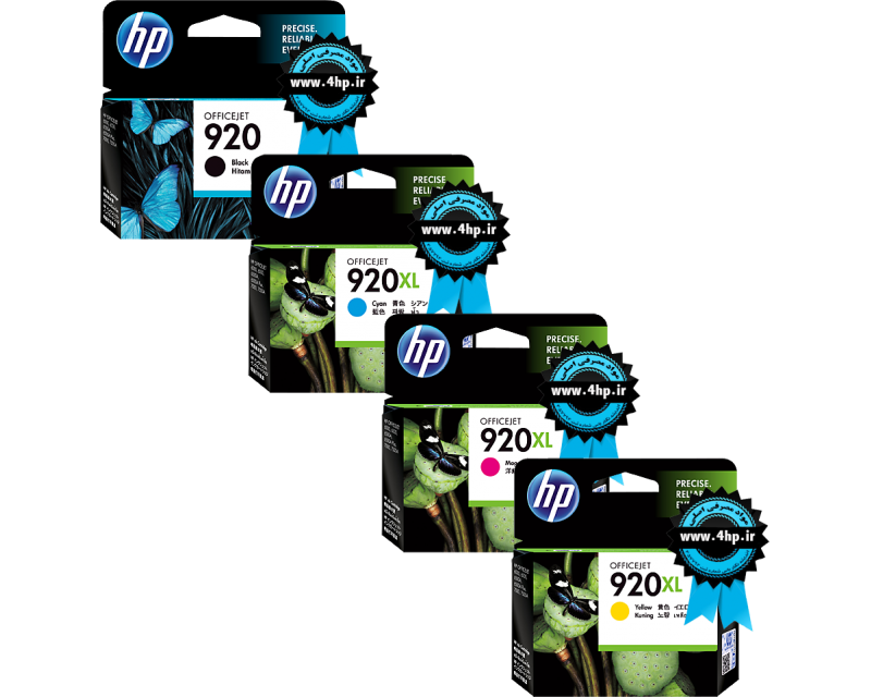 HP 920 Original Ink Cartridges CD971/2/3/4A