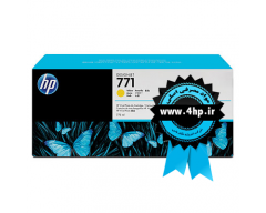 HP 771 775-ml Yellow Designjet Ink Cartridge CE040A کارتریج ۷۷۱ زرد اچ پی