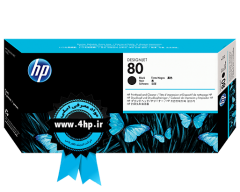 HP 80 Black Printhead and Printhead Cleaner C4820A هد ۸۰ مشکی اچ پی برای پلاتر HP 1050