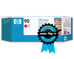 HP 90 Magenta Printhead and Printhead Cleaner C5056A هد پلاتر ۴۰۰۰ - ۴۵۰۰ قرمز اچ پی