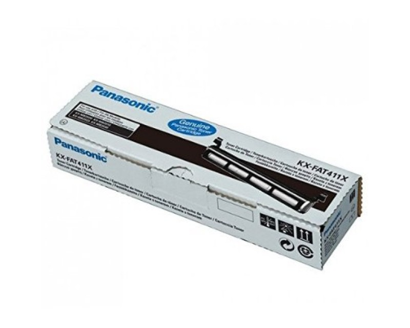 Panasonic KX-FAT411X Original Toner Cartridge 2000 pages