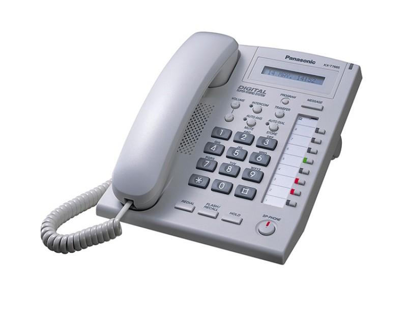 Panasonic KX-T7665 تلفن سانترال پاناسونیک KX-T7665