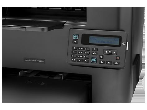 پنل دستگاه HP LaserJet Pro MFP M225dn